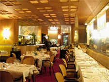 Dining Room at Le Relais Plaza, Paris,