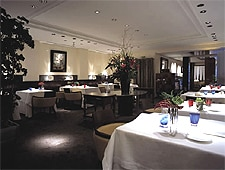 Dining Room at Hiramatsu, Paris,