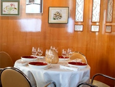 Dining room at Alain Passard -- L'Arpège, Paris, france