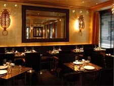 Dining room at THIS RESTAURANT IS CLOSED La Table de Joel Robuchon, Paris, france