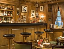 Dining room at Le Bar Hemingway, Paris, france