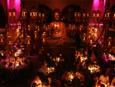 Dining room at Buddha Bar, Paris, france