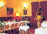 Dining room at Le Relais d'Aumale, Orry-la-Ville, france