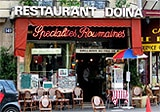 Restaurant Doina, Paris, france