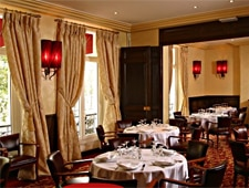 Dining Room at Au Boeuf Couronne, Paris,