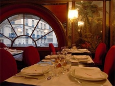Dining Room at La Fontaine Gaillon, Paris,