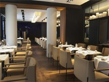 Dining Room at Metropolitan Restaurant, Paris,