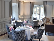 Dining room at 1 Place Vendôme, Paris, france