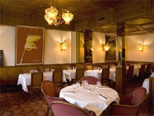 Dining Room at La Taverna, Paris,