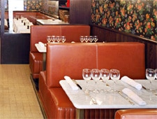 Dining room at Aux Prés, Paris, france