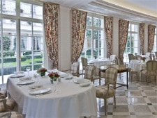 Dining Room at Epicure, Paris,