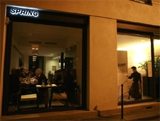 Dining room at Spring, Paris, france