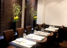 Dining Room at Yoshi, Paris,
