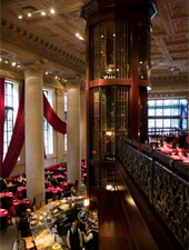Dining room at Del Frisco's Double Eagle Steak House, Philadelphia, PA