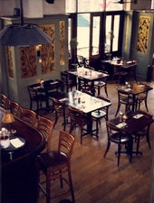 Dining Room at Beau Monde, Philadelphia, PA