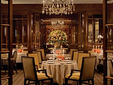 Dining room at Fountain Restaurant, Philadelphia, PA