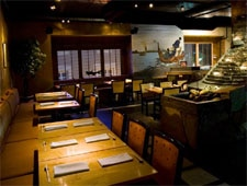Dining room at Umi Japanese Restaurant, Pittsburgh, PA