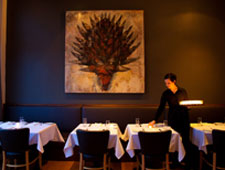 Dining room at Castagna, Portland, OR