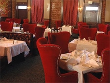 Dining room at Wilf's Restaurant & Piano Bar, Portland, OR