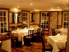 Dining room at La Masseria, East Greenwich, RI