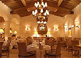 Dining room at THIS RESTAURANT IS CLOSED Azur, La Quinta, CA