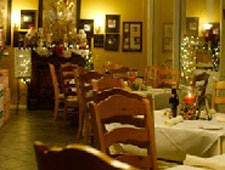 Dining room at THIS RESTAURANT HAS CHANGED LOCATIONS Chez Pierre, Palm Desert, CA