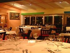 Dining room at THIS RESTAURANT HAS CHANGED LOCATIONS Blend, La Quinta, CA