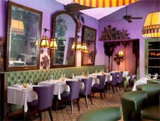 Dining Room at The Purple Palm, Palm Springs, CA