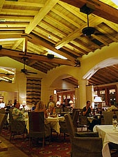 Dining Room at Morgan's in the desert, La Quinta, CA