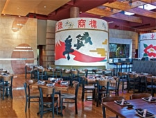 Dining room at Sapporo, Scottsdale, AZ