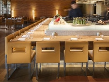 Dining room at Roka Akor, Scottsdale, AZ