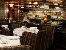 Dining room at Mastro's Steakhouse, Scottsdale, AZ