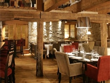 Dining room at Panache, Quebec City, canada