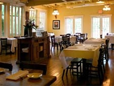 Dining room at Vin Rouge, Durham, NC