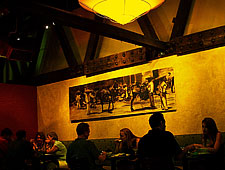 Dining room at Jibarra, Raleigh, NC