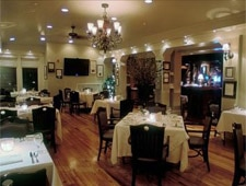 Dining room at Second Empire, Raleigh, NC