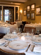 Dining Room at Fig Tree Restaurant, San Antonio, TX