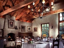 Dining Room at Stonehouse, Montecito, CA
