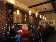 Dining room at Urban Solace, San Diego, CA