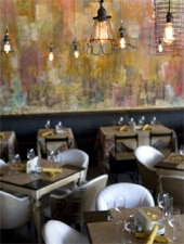 Dining Room at Cucina Urbana, San Diego, CA