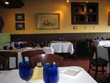 Dining Room at Trattoria Ponte Vecchio, Del Mar, CA