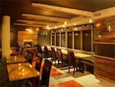 The dining room of Prepkitchen Del Mar