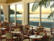 Dining room at The Marine Room, La Jolla, CA