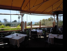 Dining room at Sbicca, Del Mar, CA