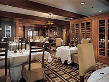 Dining room at The Dining Room at Salish Lodge & Spa , Snoqualmie, WA