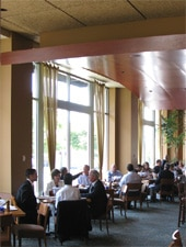Dining room at Seastar Restaurant & Raw Bar, Bellevue, WA