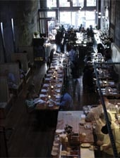 Dining room at Tavolata, Seattle, WA