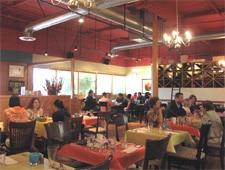 Dining room at Pomegranate Bistro, Redmond, WA