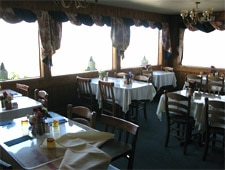 Dining room at THIS RESTAURANT IS CLOSED The 3 Crabs, Sequim, WA