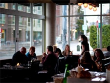 Dining Room at Anchovies & Olives, Seattle, WA